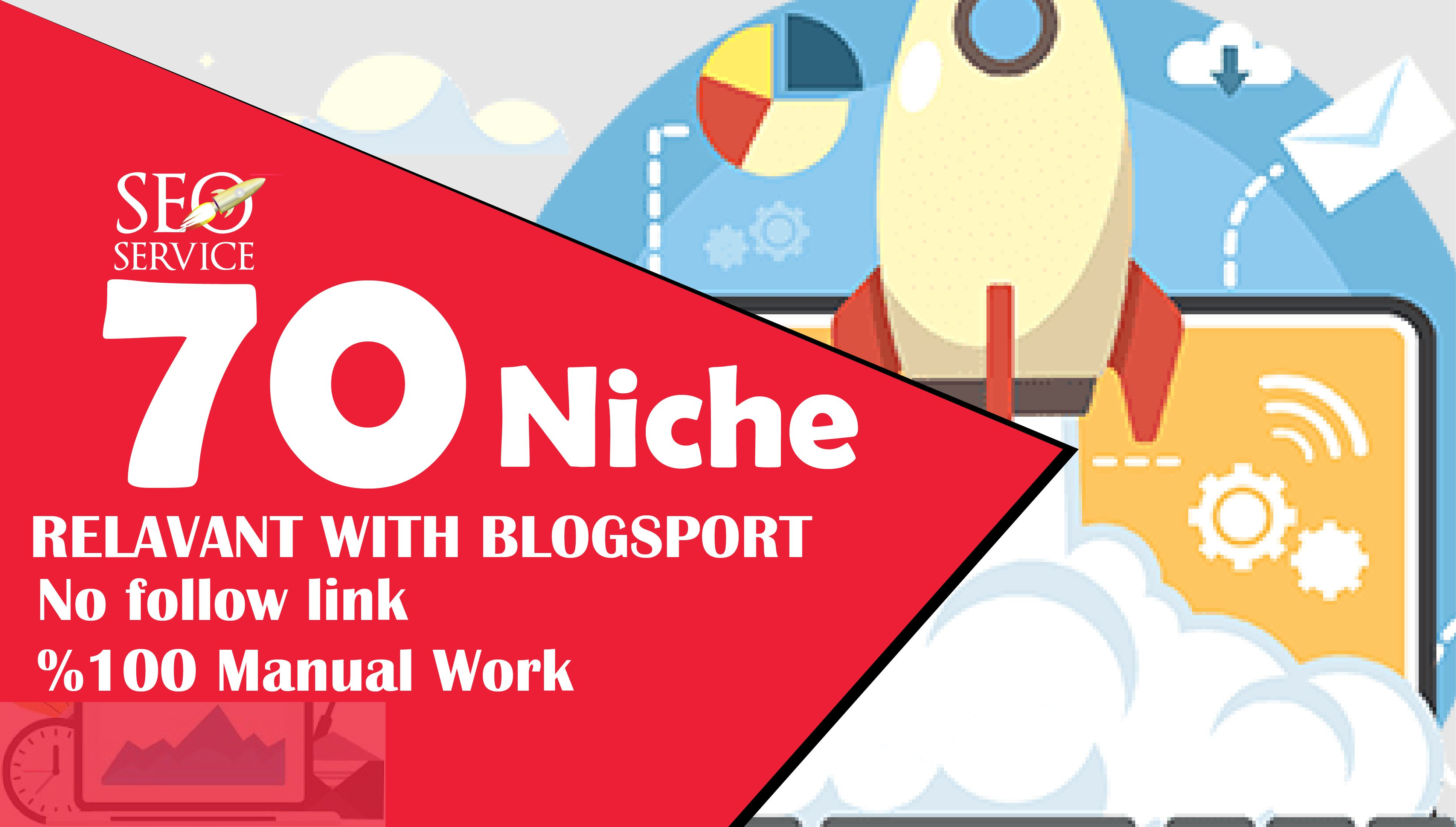 I will do 70 niche relevant nofollow blogcomment