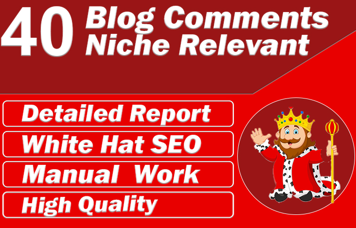 I will create 40 low obl niche relevant SEO backlinks