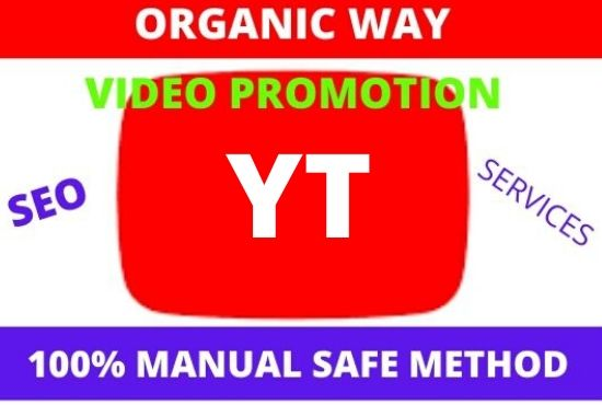 I Will do Promote videos by social media marketing.