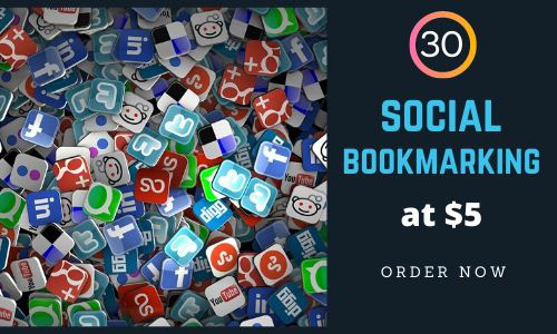 I will Provide you Genuine 30 social Bookmarking Back-links