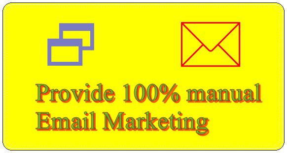 I Will Create 1000 Email List manually For Email Marketing