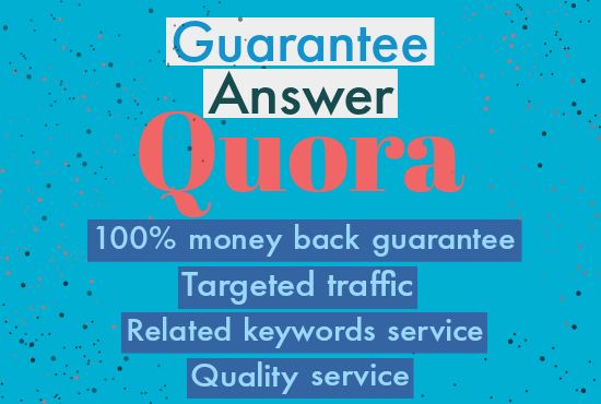 Promote Your Website/Business With High Quality Quora Answer