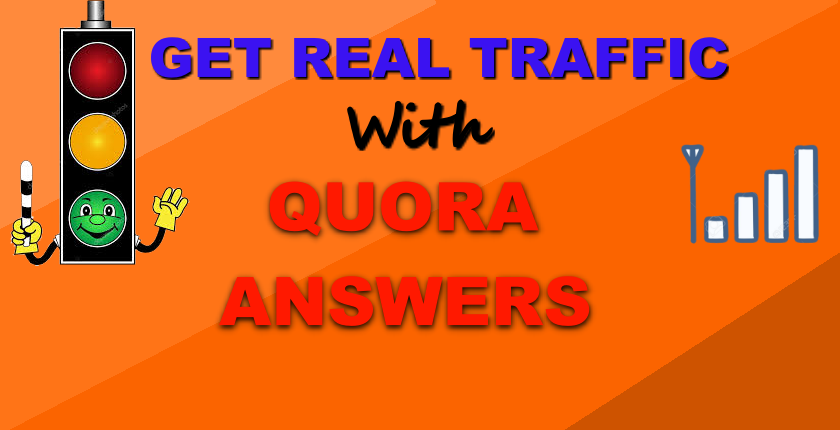 Get Real traffic With 100 Quora Answers