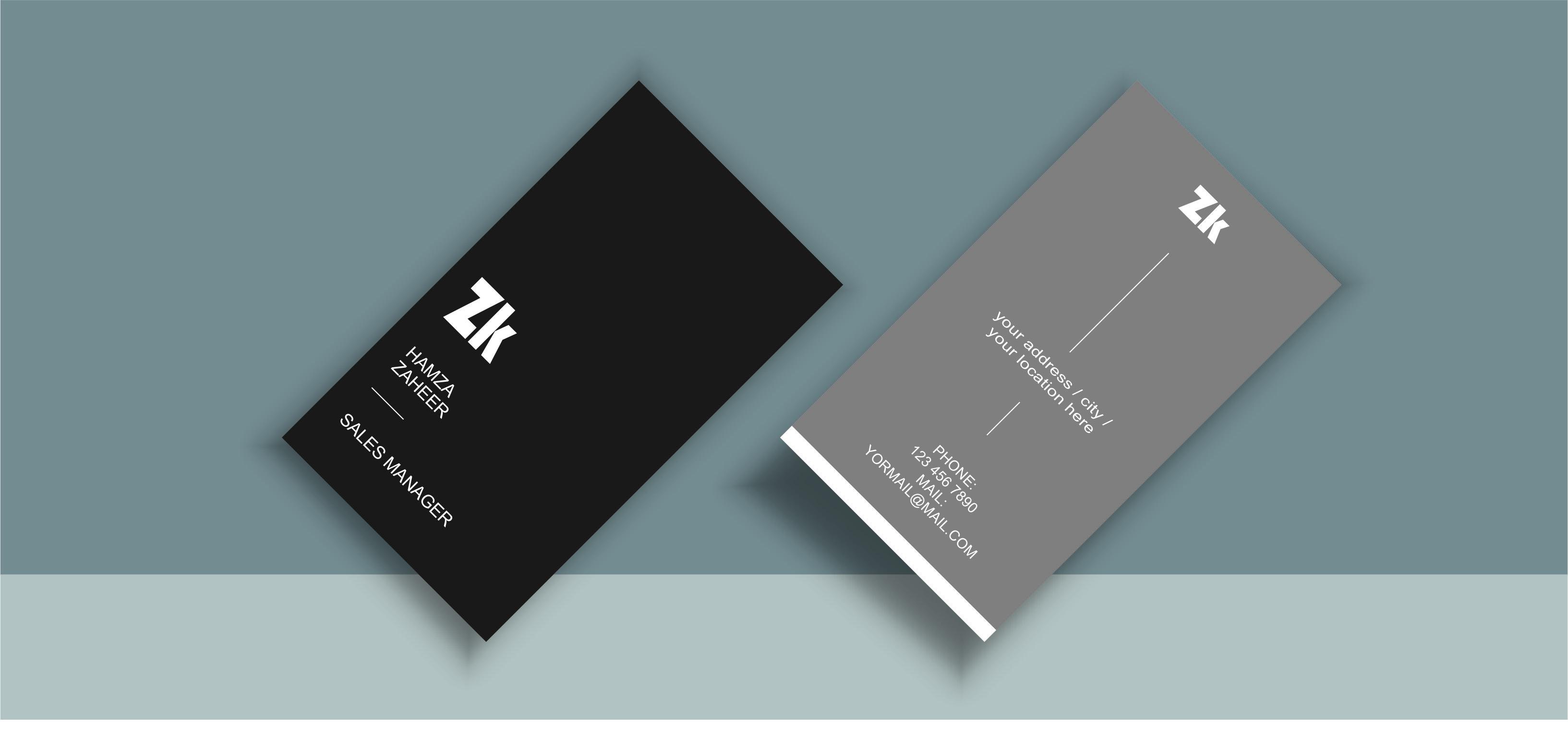 i will design minimalist, attractive, creative, modern and unique business card