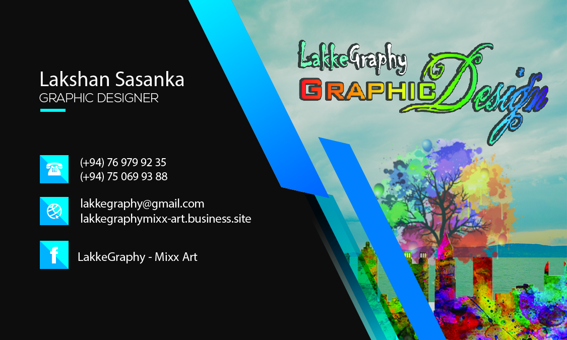 I will do creative business card design