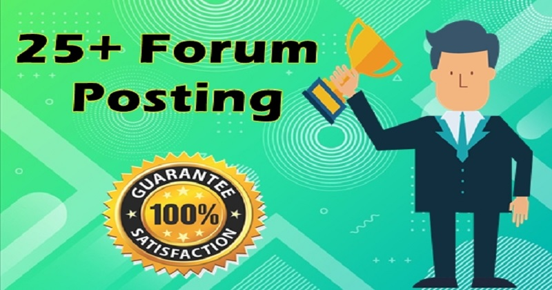 25+ High DA forum posting Backlinks-Top forum posting service in seoclerk