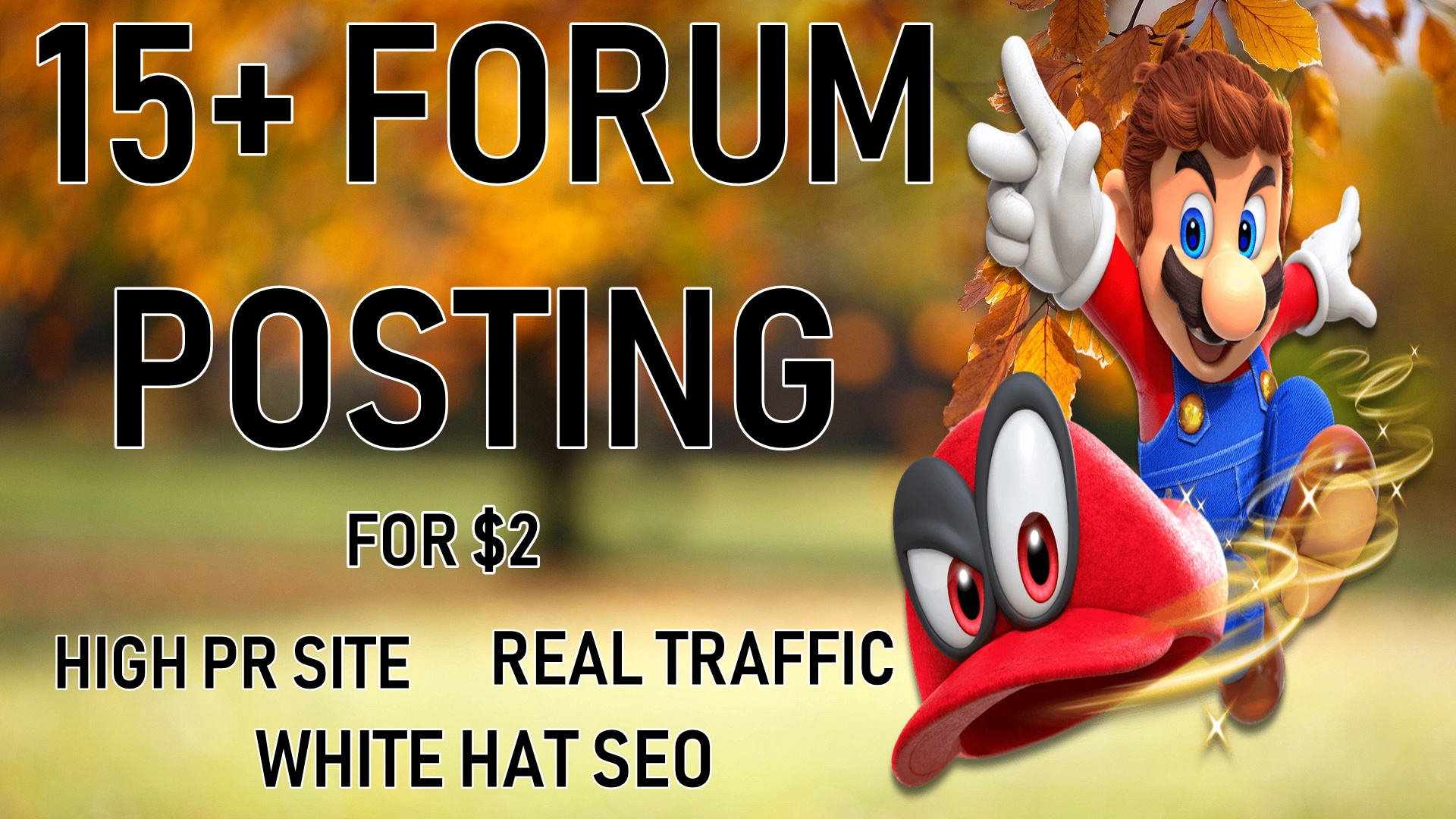 15+ High Quality Forum Posting For Real Traffic and Rank