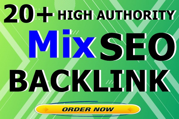 20+ High Authority Mix All in One PR9 SEO Backlinks with DA100 sites Plus Edu Gov Links