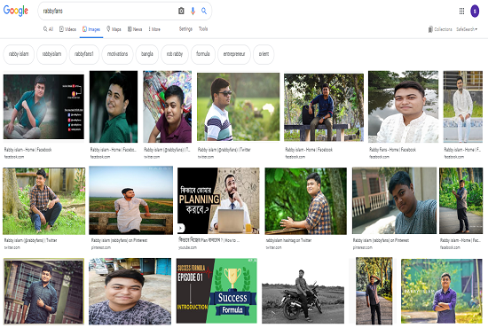 Do image SEO, show your image on google 1st page