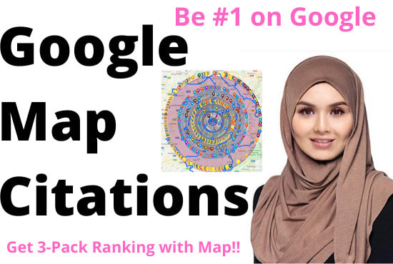 100 google map citations for gmb ranking local business SEO
