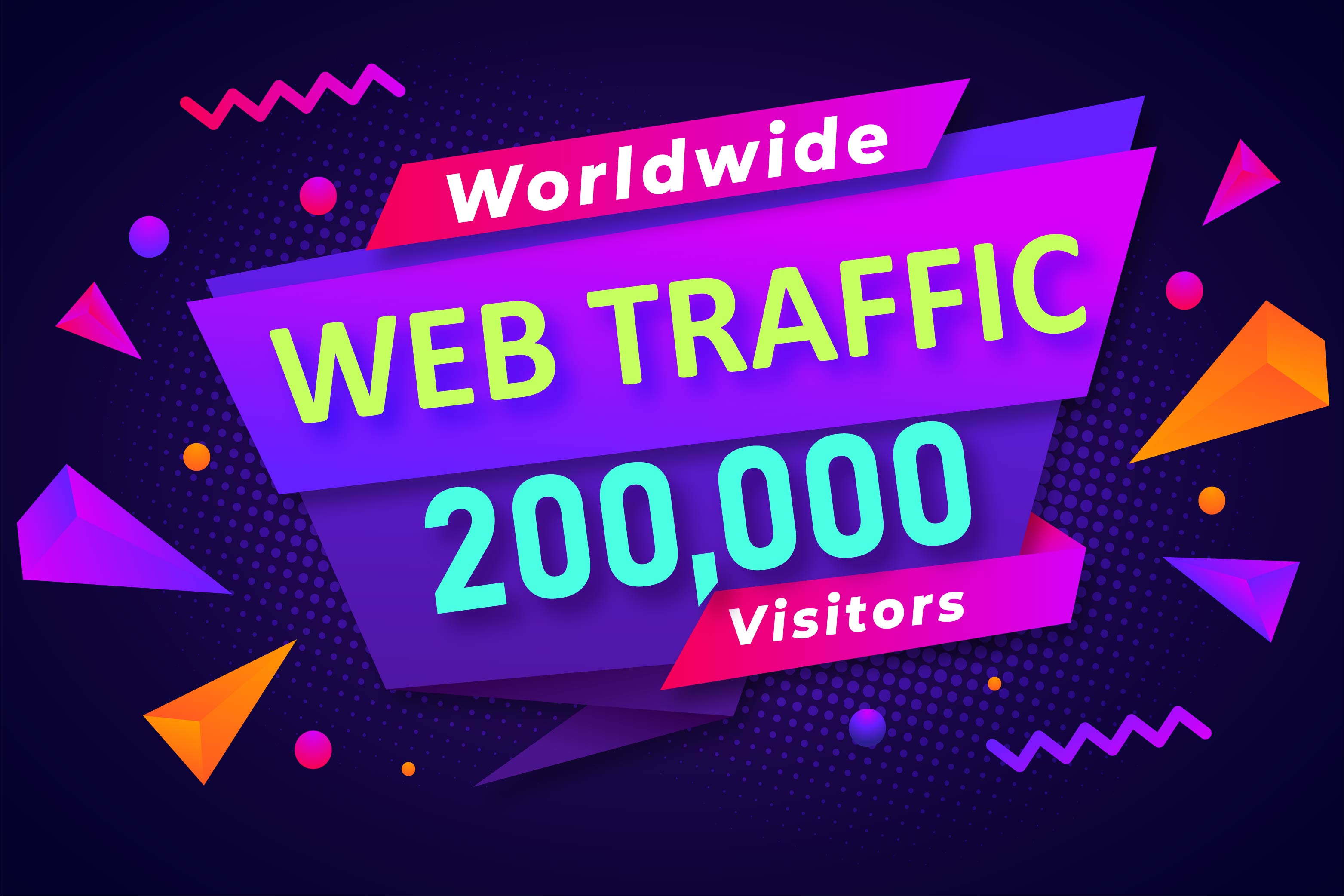 20,000+ Worldwide High Quality Ranking Website Traffic