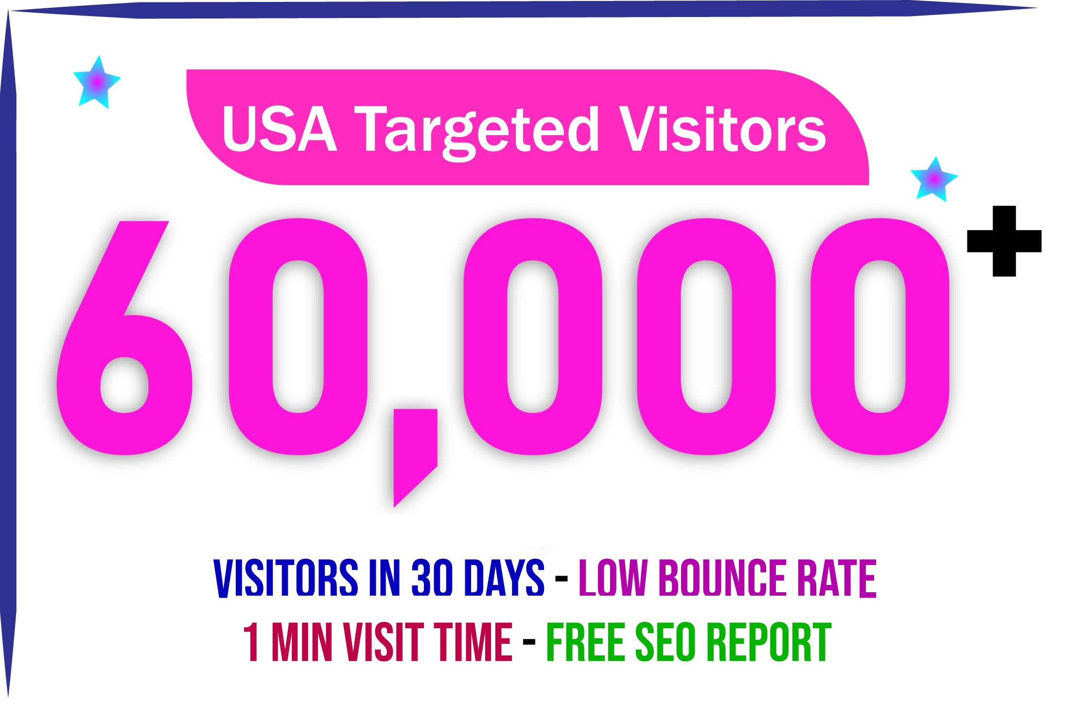60,000 USA/CANADA daily visitors for daily nonstop web traffic