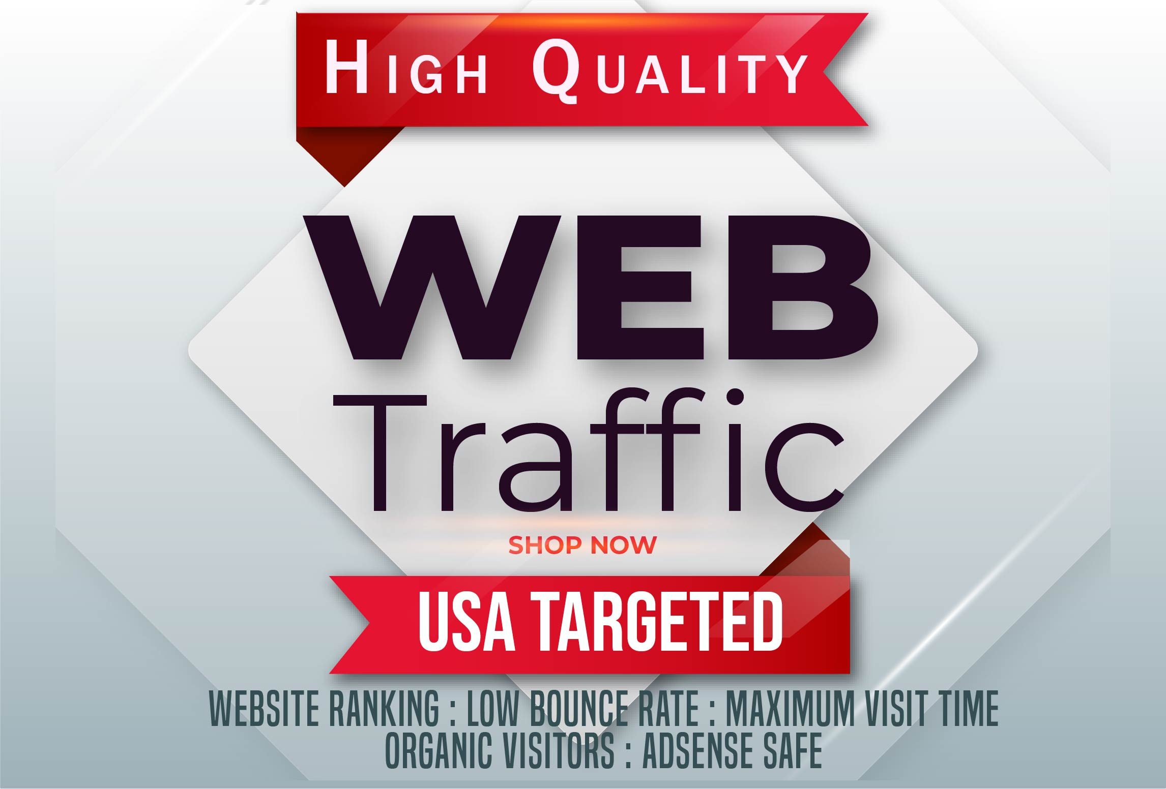 i will send 20,000+ USA/UK High Quality Ranking Website Traffic