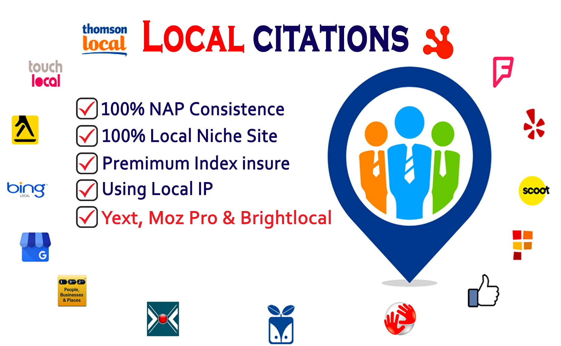 25 Local Citations or Business Listing For Local SEO