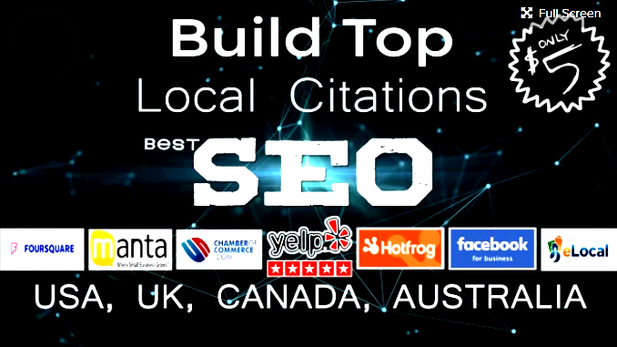 I Will Do 25 Local Citations or Business Listing