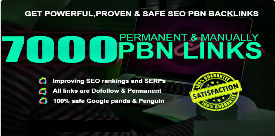 Get 7000+ powerful and safe PBNs/WEB2.0 Backlink with DA 70+ PA 80+ with unique website