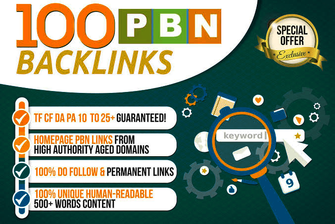 Get Super 100+ Premium PBN BACK-LINK with high DA/PA/CF/TF in your landing page WITH Unique Website