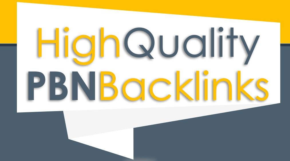 Build 200 High PA DA TF CF HomePage PBN Backlinks - Dofollow Quality Links
