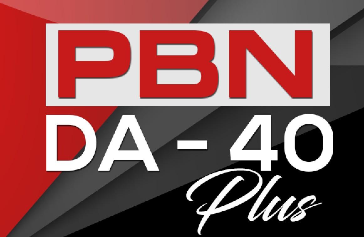 Build 350 PBN DA 40+ Homepage Backlinks