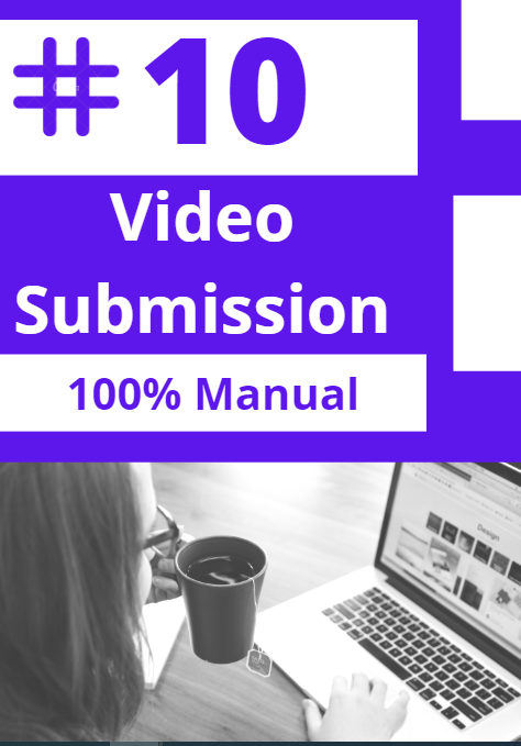 YouTube Video promotion by Manual submission