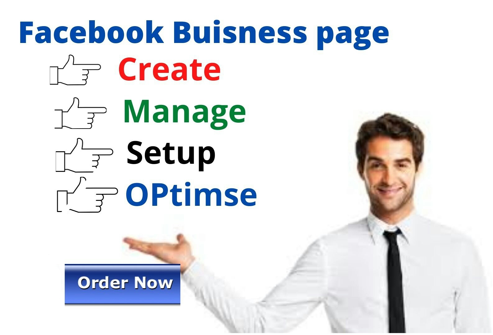 i will do create a Facebook business page