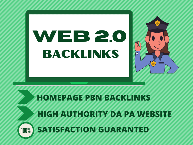 I will provide 25 PERMANENT Web2 BACKLINKS WITH HIGH AUTHORITY DOFOLLOW PBN Website