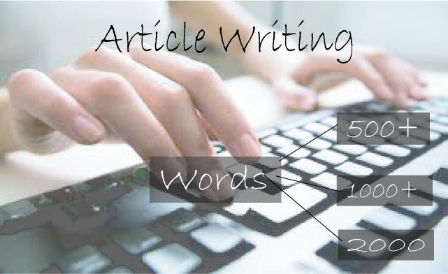Write 1000+ words unique article for your website on any niche content