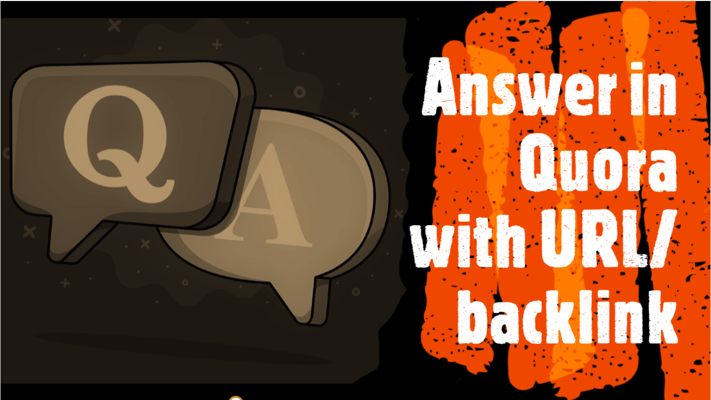 Provide 8 Quora answer with URL/Keyword