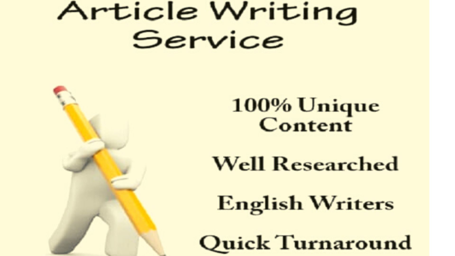 I will provide 3 organic Article writing service for your website