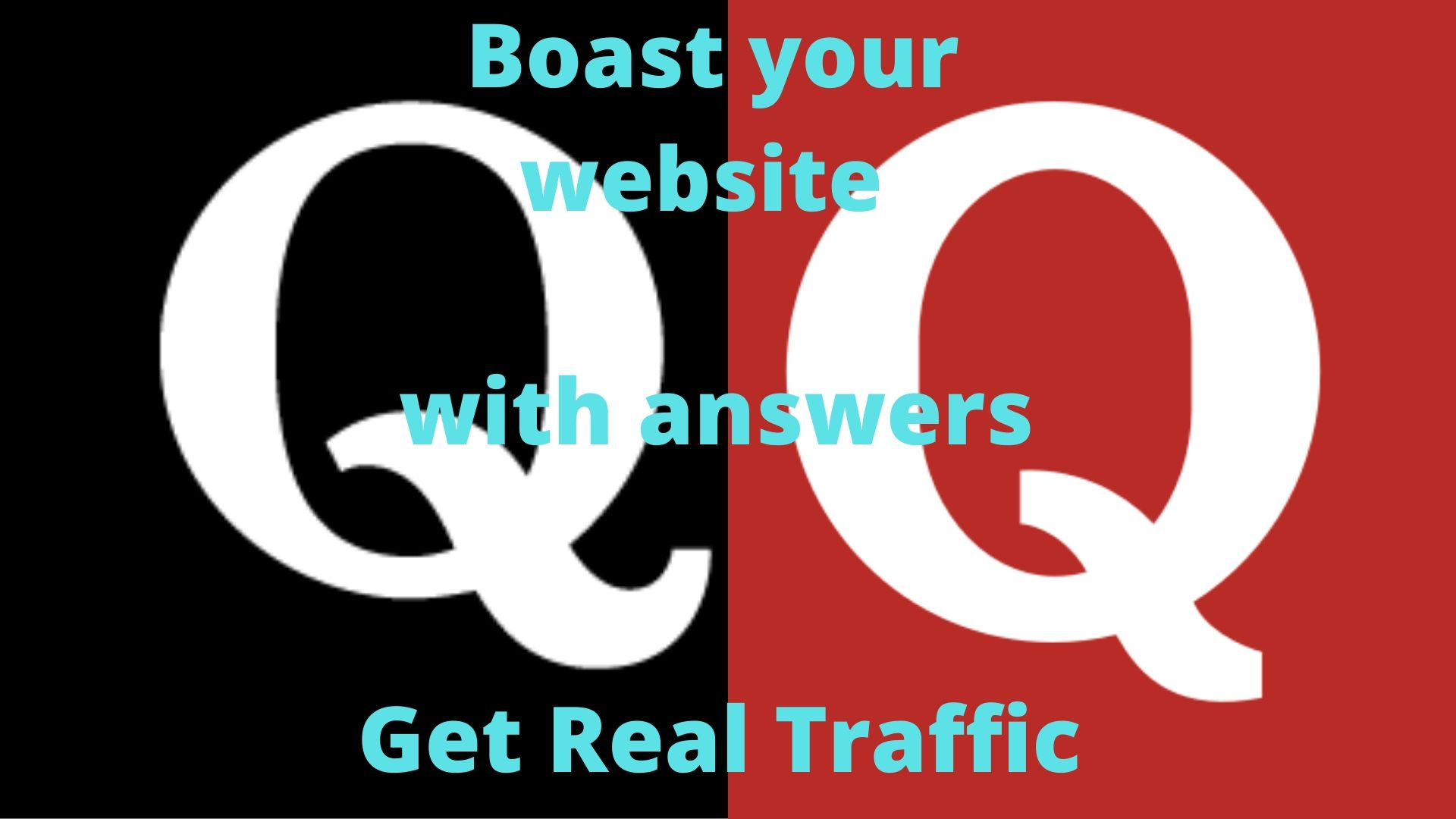 Get targeted traffic with 30 organic Quora Answers