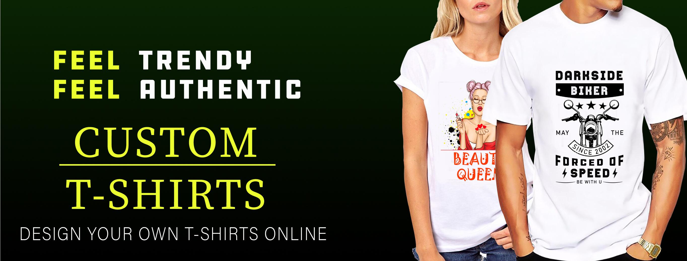 I will make trendy t-shirt design