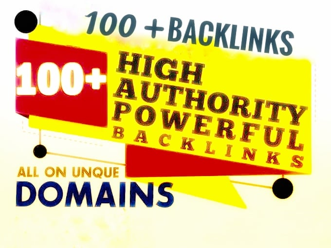 I will create 100 the most verified backlinks for your website
