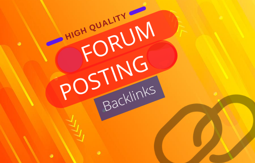 I will Create 20 HIGH QUALITY Forum Posting