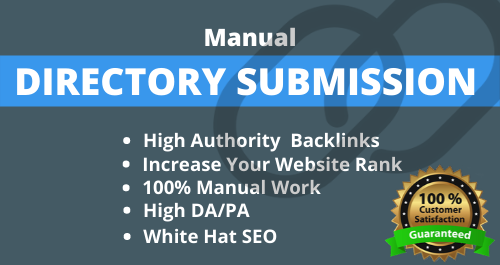 I will do 30 high authority directory submission