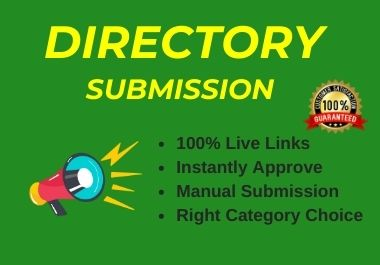 Instant Approve 35 Live Web Directory Submissions Manually from High Authority Directories