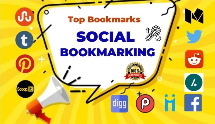 Top 50 Social bookmarking live link for boost website ranking