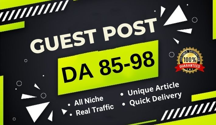 A High DA 85+ Guest post on authority blog site Medium/LinkedIn/LiveJournal. com