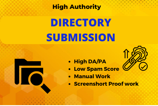 Manual 100 Niche relevant Directory Submission