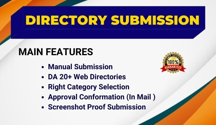 50 High Authority Directory Submissions Manually