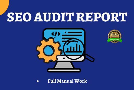 I will Provide Manually SEO Audit Report and Action Plan for Your Website.