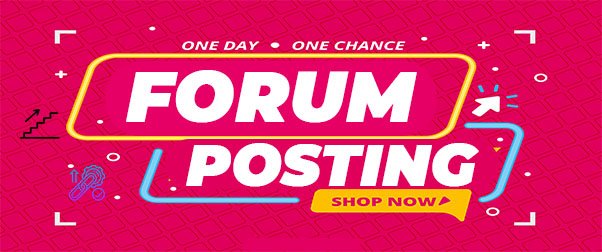 I will Do 30 High Quality Forum Posting Backlinks