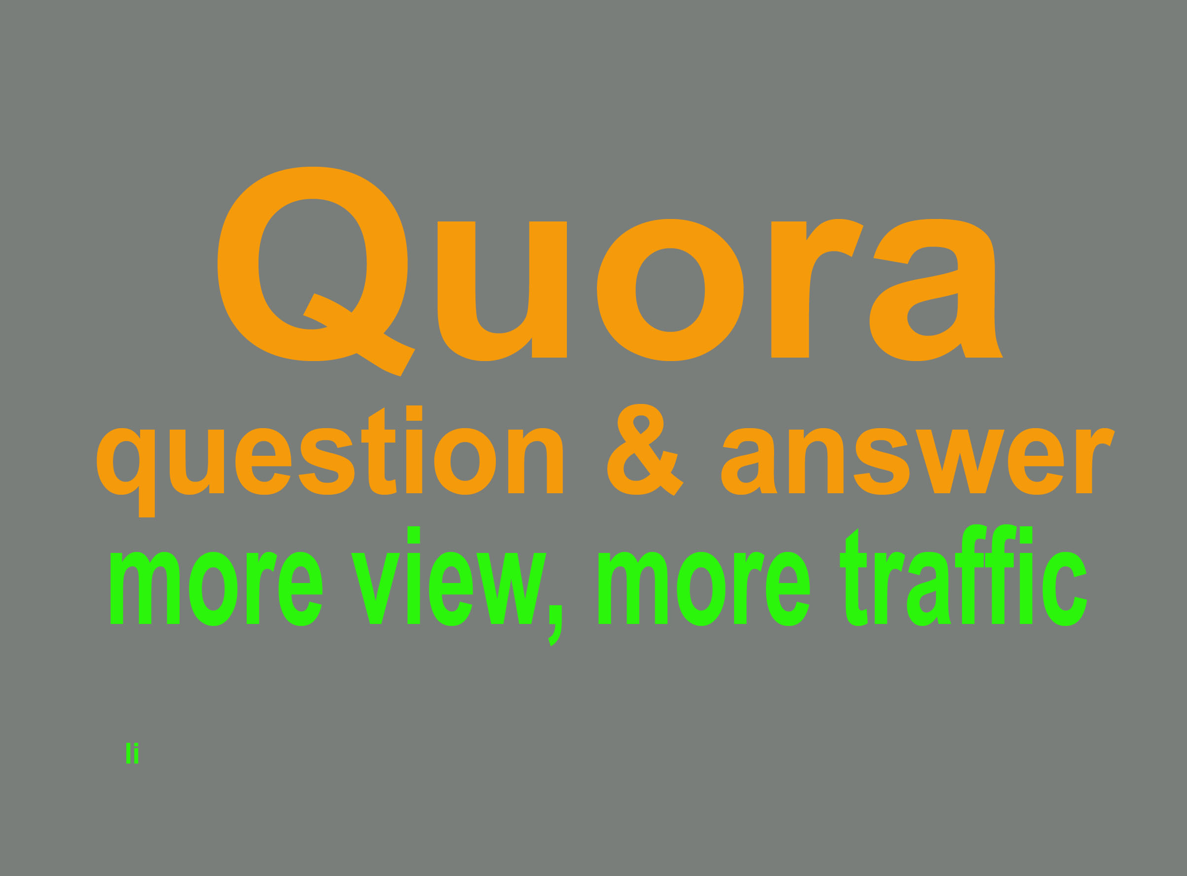 1st offer your choice 15+ Quora