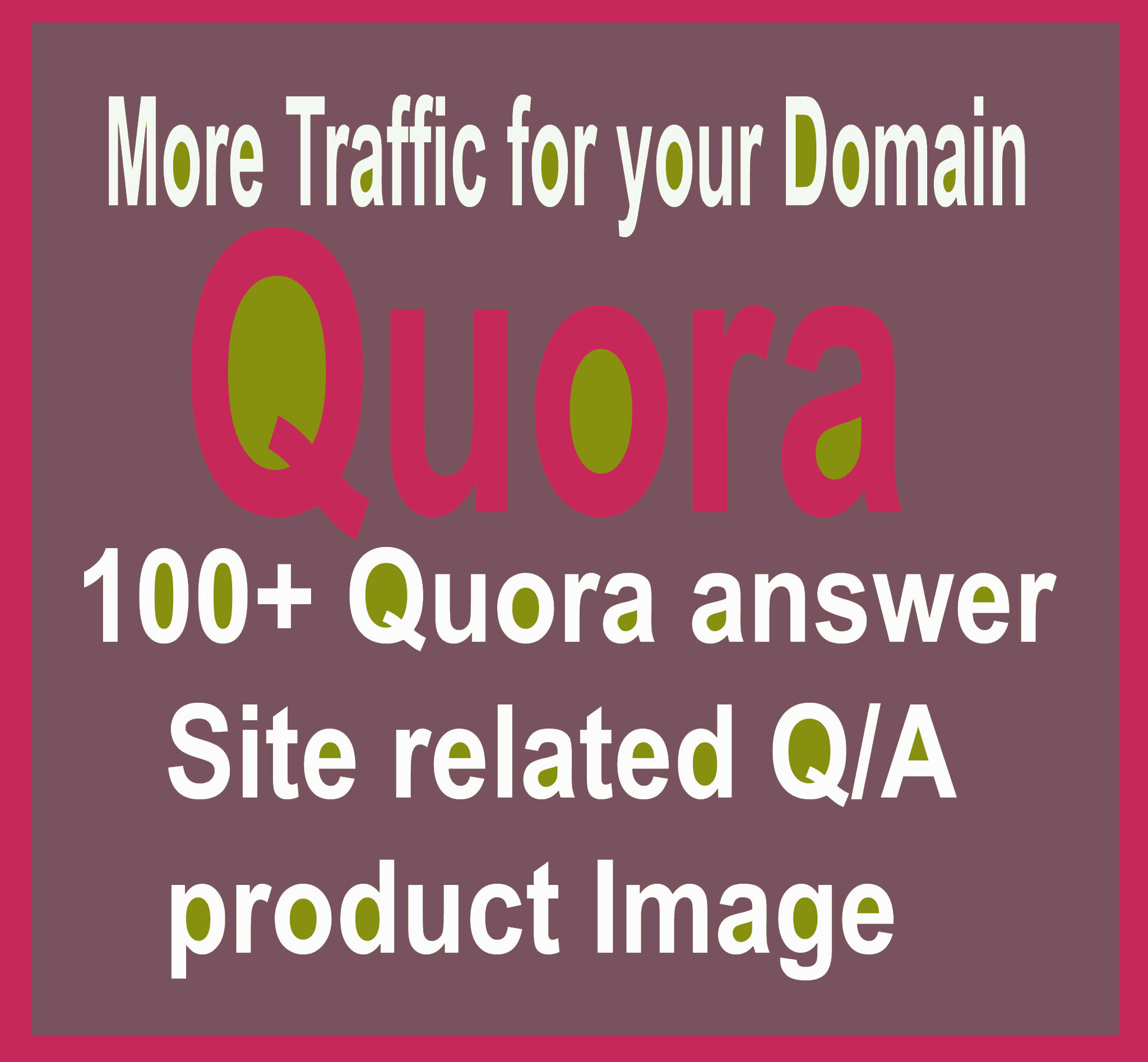 I Provide 40+ H/Q P/R Quora Answer & update system