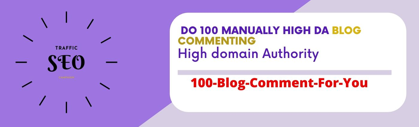 Do 50 blog comments back-links high da pa tf