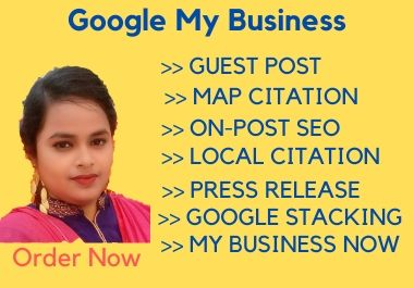 I will manage and optimize your google my business account