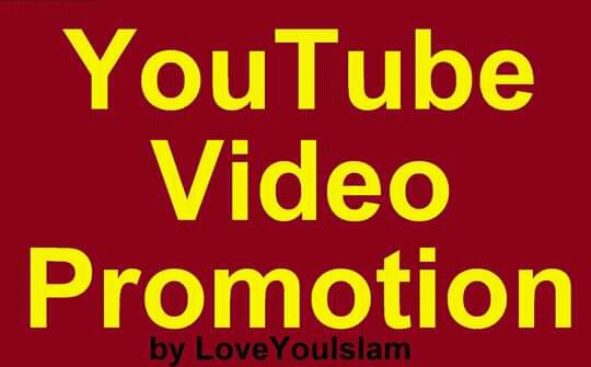 Get YouTube Video High Quality Promotion Marketing