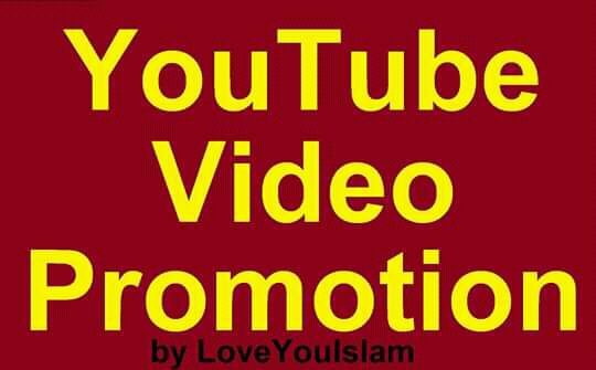Social Media High Quality YouTube Videos Promotion
