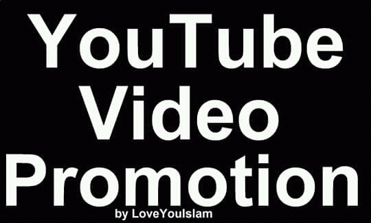Add YouTube High Quality Video Promotion Marketing