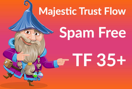 I will help you to increase majestic trust flow 30 plus
