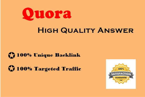 provide your website with 30 High Quality Quora answers